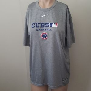 Nike Dri Fit Cubs Baseball MLB Men's Medium Shirt